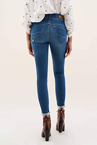 Touch Secret Jeans Soft Push Skinny Bleu Salsa in a4Yw1q