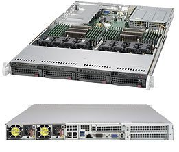 Brand New Supermicro 1U SuperServer SYS-6018U-TR4T+ with full warranty