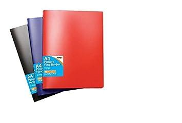 Tigre A4 slim/proyecto estilo archivador con 10 bolsillos color sólido (solo): Amazon.es: Oficina y papelería