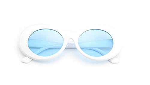 gafas blue estrella de gafas Moda con sol la LSHGYJ sol de gafas el la sol GLSYJ párrafo personalidad frame coreana de White versión la qxCwUA4w