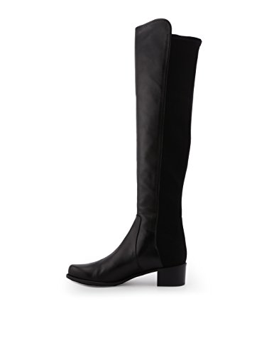 Stuart Leather Boots XO87752BLACK Women's Black Weitzman ZzxRZwqO
