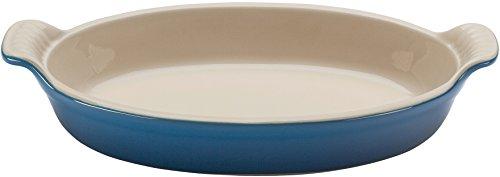 Le Creuset Heritage Stoneware Oval Au Gratin Dish, 1-Quart, Cherry (Le Creuset Gratin Dish compare prices)