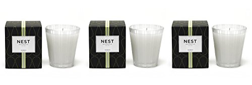 NEST Fragrances Classic Candle- Bamboo , 8.1 oz (3-(Pack))