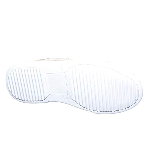 Linea Invernale Bianco Fondo Bassa Italy Basic Sneakers Cruelty Grigio Uomo Vero In Handmade Moda Made Camoscio Evxa0qn