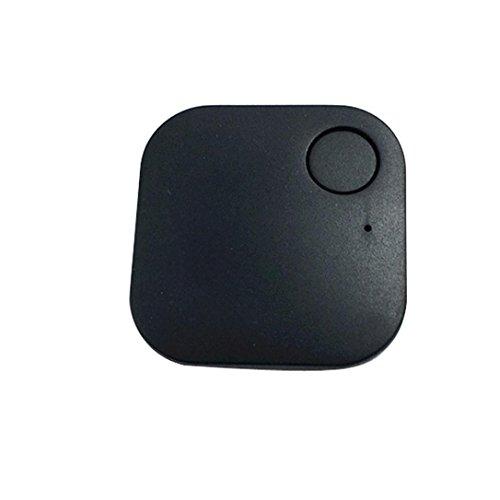 Smart Bluetooth Tracer Pet Child Wallet Key GPS Locator Tag Alarm (Black) - 2