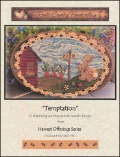 Temptation Punch Needle Chart by Rustic Country