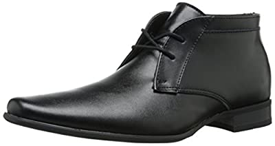 Calvin Klein Men's Ballard Leather Chukka Boot