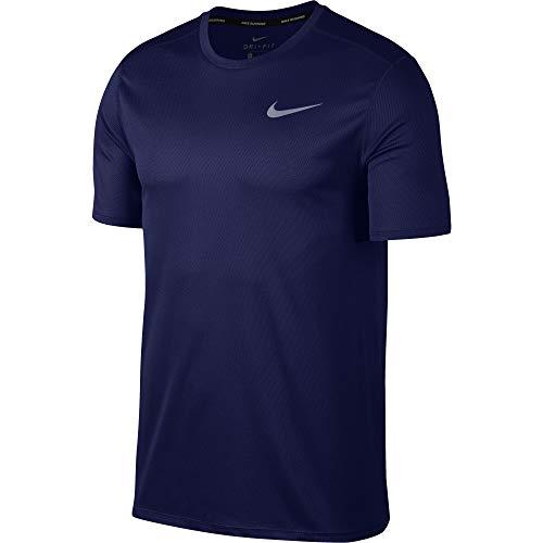 T Blue shirt Homme riflettente Run T Silver Nike Void tSwzpwq