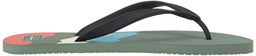 Reef Mens Switchfoot Prints Sandal S Green Lines o52GdSjm