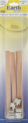 Yaley Earth Wick Keeper Wood Medium 0.375 Inch (12 Pack)