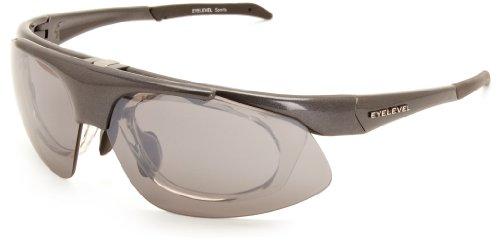 Eyelevel Herren Sonnenbrille Wickelkleid - Grau - Grey - Einheitsgröße c0rRWLmf