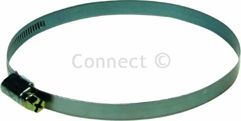 "Tumble Dryer Vent Hose Clips 90-110mm For Attaching 4"" Hose To Adaptor, 2 Clips Supplied"