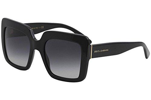 Dolce & Gabbana Unisex 0DG4310 Black/Grey Gradient Sunglasses