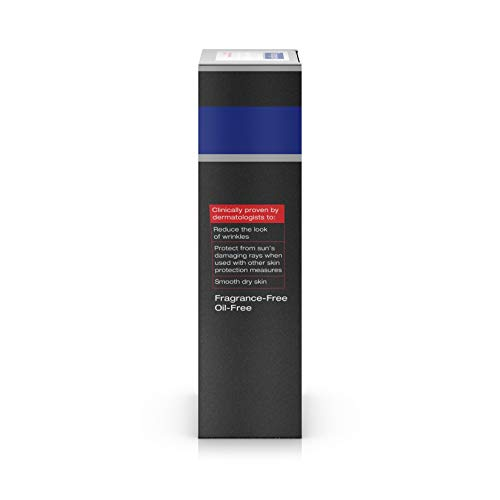 31lwJVH96tL - Neutrogena Age Fighter Anti-Wrinkle Face Moisturizer for Men, Daily Oil-Free Face Lotion with Retinol, Multi-Vitamins, and Broad Spectrum SPF 15 Sunscreen, 1.4 oz