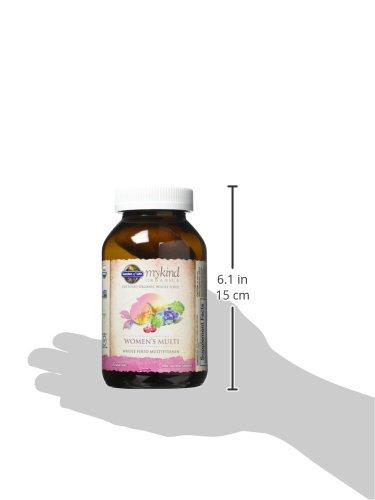 Garden of Life Multivitamin for Women - mykind Organic Women Whole Food Vitamin Supplement, Vegan, 120 Tablets by Garden of Life (Image #9)