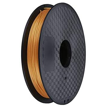 BouBou Bronce/Dorado 75Mm 0.5Kg / 1Lb Pla Filamento Flexible para ...