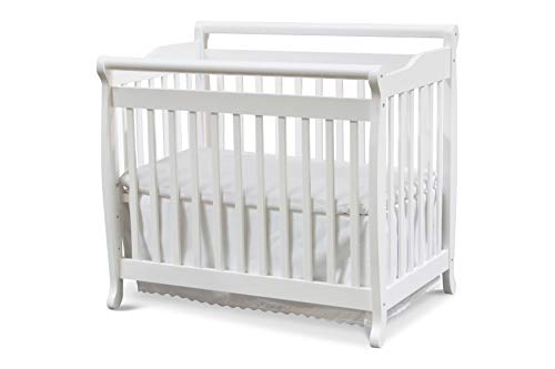 (DaVinci Emily 2-in-1 Mini Crib and Twin Bed in White)