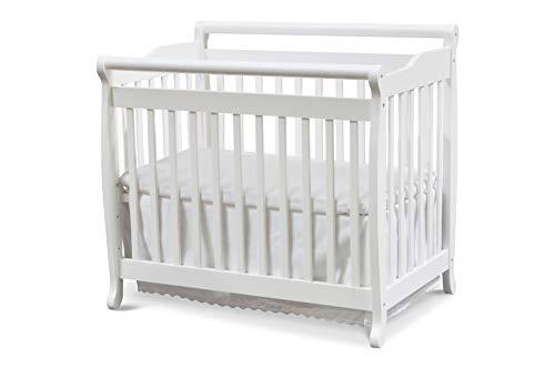 DaVinci Emily 2-in-1 Mini Crib and Twin Bed in White Finish
