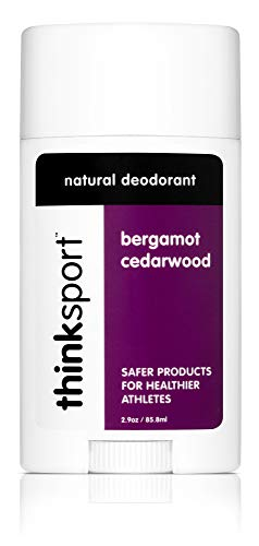 Thinksport Deodorant, Bergamot Cedarwood (2.9 ounce)