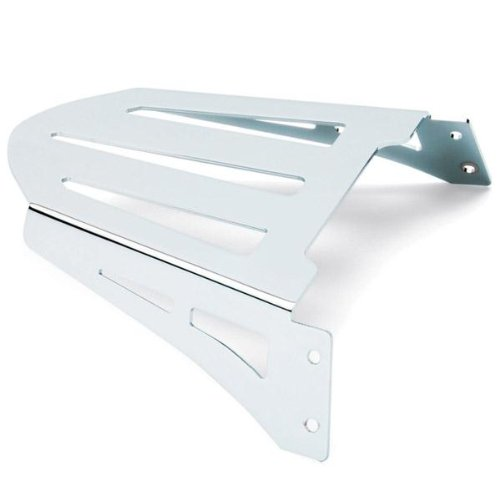 (11-17 YAMAHA XVS13CA: Cobra Formed Solo Luggage Rack (Chrome))
