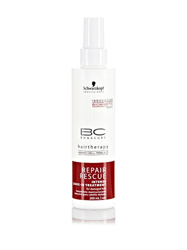 Schwarzkopf Professional BC Bonacure Repair Rescue Intense Leave-in Treatment Schwarzkopf Bonacure Hair Therapy Moisture