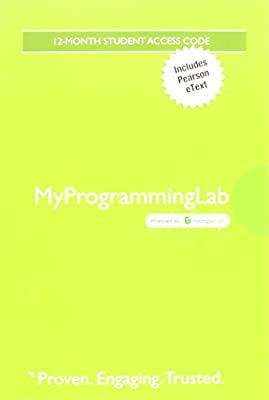 MyProgrammingLab with Pearson eText -- Standalone Access Card -- for Starting Out With C++: Early Objects