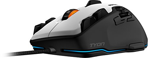 ROCCAT TYON All Action Multi-Button Gaming Mouse, White