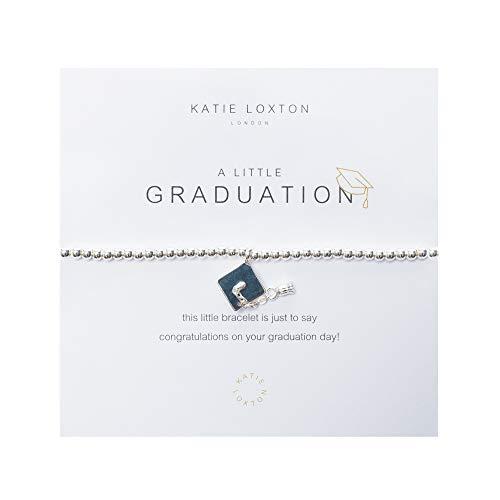 Katie Loxton A Little Graduation Cap and Tassel Silver Women's Stretch Charm Bangle Bracelet]()