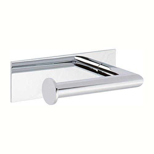 Brasstech Brass Toilet Paper Holder (Ginger 2806L/PC Surface Open Toilet Tissue Holder-Left, Polished Chrome)