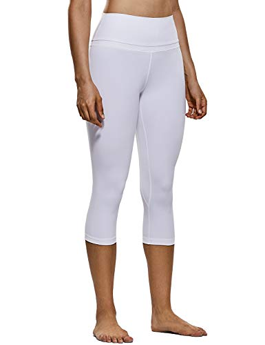 (CRZ YOGA Women's Naked Feeling High-Rise Crop Tight Yoga Capri Pants Workout Leggings 19