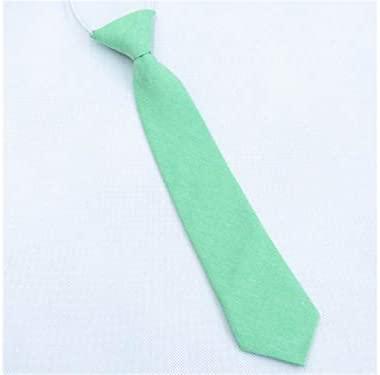 LridSu Corbata Flaca de Microfibra Tejida para niño (Verde ...