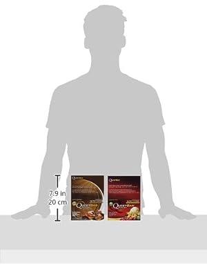 Quest Protein Bar Bundle: Cinnamon Roll Pack of 12, Apple Pie Pack of 12