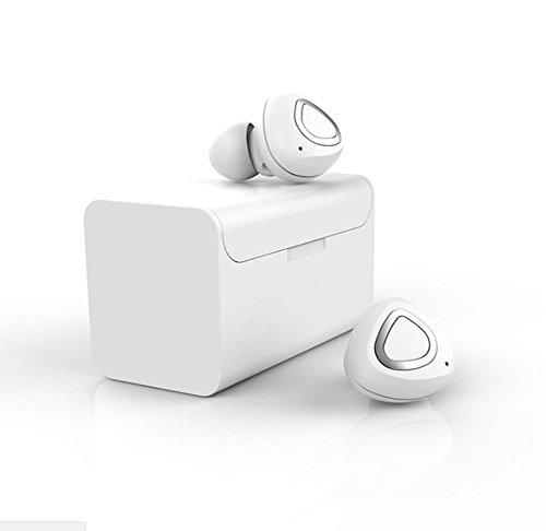 DDPP Binaural Wireless Mini Bluetooth Headset Ster...
