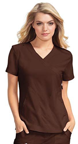 - KOI lite 316 Women's Philosophy Scrub Top Espresso 2X