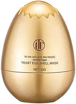 Jeeke Yeast Eggshell Mask Film Sleep Mask Cosmetic Moisturizing Lifting Firming Hyaluronic Acid Essence, Tightening Whitening Skin