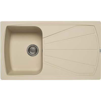 Elleci Living 400 Granitek Basin Sink Kitchen Sink Granite Single ...