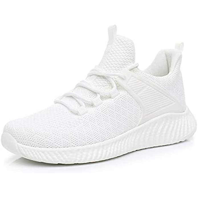 SDolphin Womens Lightweight Running Shoes - Breathable Gym Shoes Slip-on Sneakers for Walking, Tennis, Casual Workout, Driving, Work