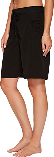 Seafolly Women's High Water Boardshorts Black Swimsuit Bottoms by Seafolly (Image #1)