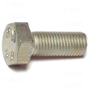 Lot Of M8 X 1.0  X 20mm Hex Cap Screw Zinc Grade 8.8 Fine 10