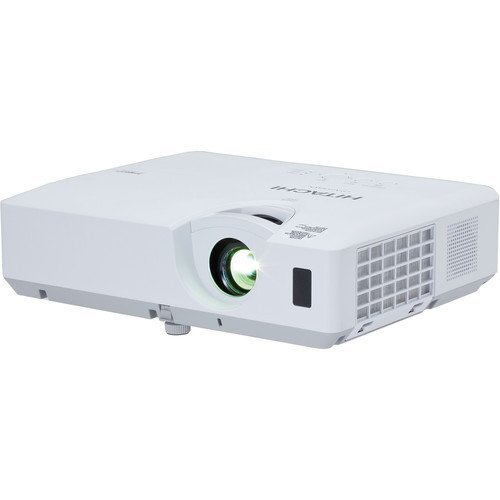 Hitachi CP-EW302N LCD Projector, 3000 ANSI Lumens White/color output, WXGA 1280 x 800 Resolution, 16W Audio Output, One HDMI Input, 10000 Hours Lamp Life, Embedded Networking, PIN Lock Protection by Hitachi (Image #1)