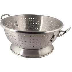 Libertyware 11 Quart Heavy Duty Aluminum Footed Colander (13-0657) Category: Colanders