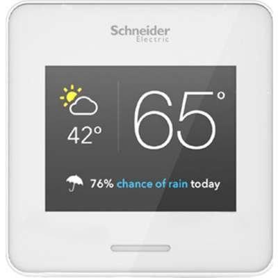 APC WISERAIR10WHTUS Wiser Air Smart Wi-Fi Thermostat (White) by APC