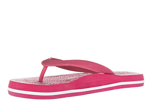 Emporio Armani - Sandalias de Caucho para mujer Rojo