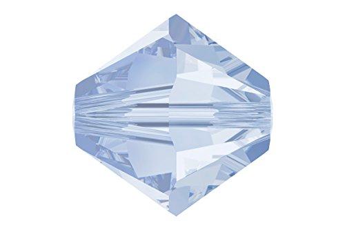 40 pcs Swarovski Crystal Bicone 5301/5328 Beads, Lavender, 4mm ()
