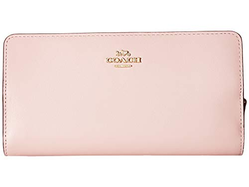 COACH Women's Skinny Wallet in Smooth Leather Blossom/Gold One Size