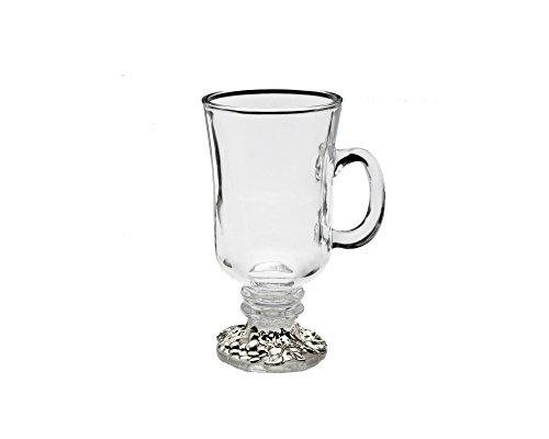 Leaf Footed Cup - Arthur Court Grape Glass Beverage Mug