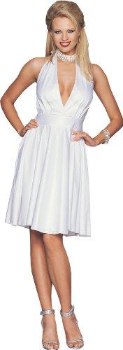 Leg Avenue Starlet Halter Dress(WHITE,M/L)
