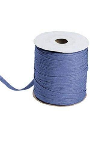 Navy Blue Matte Raffia Ribbon Gift Wrap Wedding 1/2'' Wide 500 Yards Bow by retail-warehouse