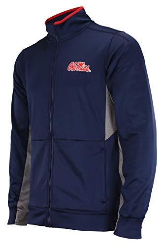 Outerstuff NCAA Men's First String Full Zip Jacket, Mississippi Old Miss Rebels Large