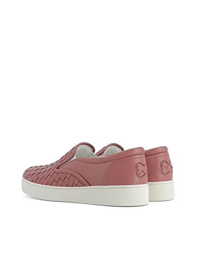 Chaussures Cuir Femme Skate De Rose 370760V00135707 Veneta Bottega Cq8wgOC